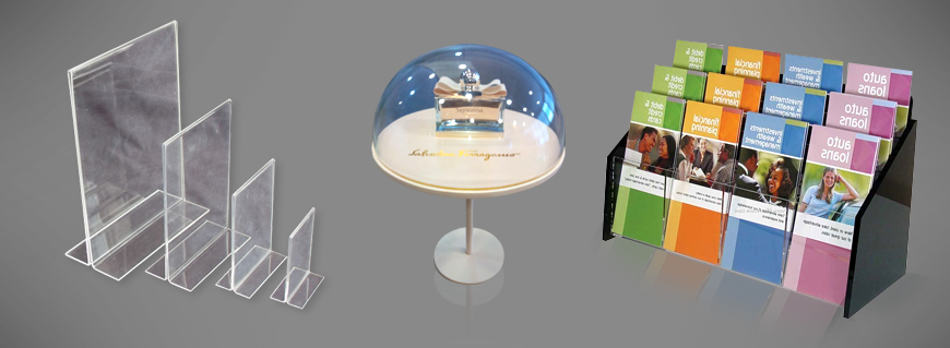 Acrylic display stands in Mumbai